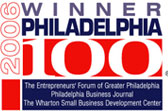 APDM - 2006 Winner - Awarded by The Entrepreneurs' Forum of Greater Philadelphia Business Journal